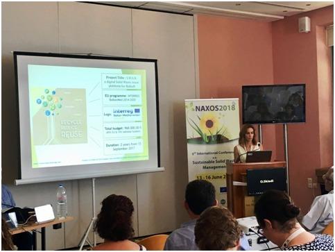 Presentation at an international conference - SWAN